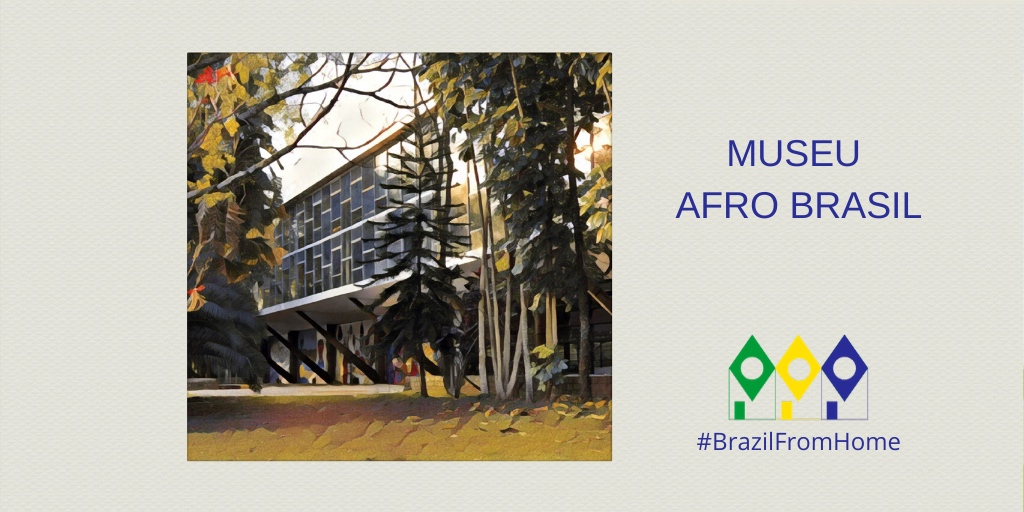 The Afro Brasil Museum's 6,000 works highlight the importance of Africa for Brazilian culture, heritage and identity as we know it today. You can browse through seven different online exhibits available on  . #brazilfromhome @museuafrobrasil