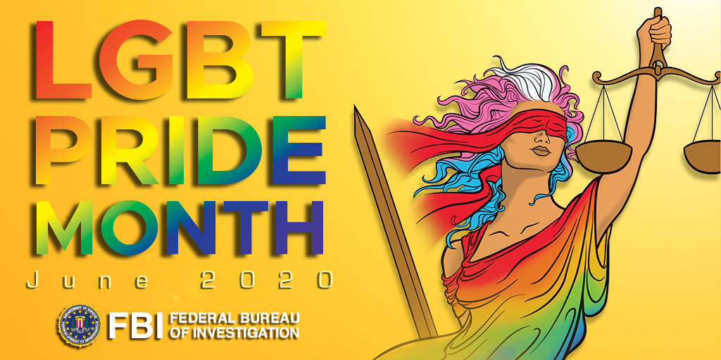 At the FBI, we know that diversity makes us stronger. During #PrideMonth, the FBI celebrates the contributions that our #LGBT colleagues have made to our country and our mission. https://t.co/SqLY732mpa