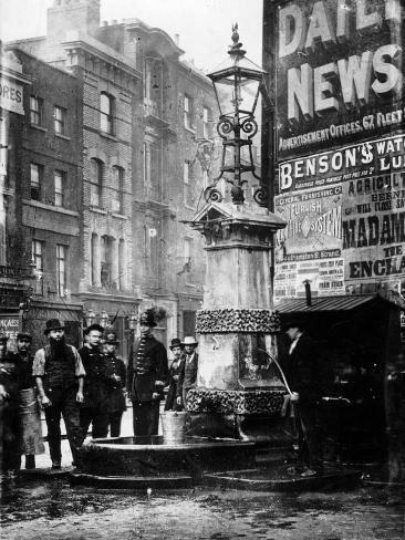 Old Aldgate Pump, London, 1880