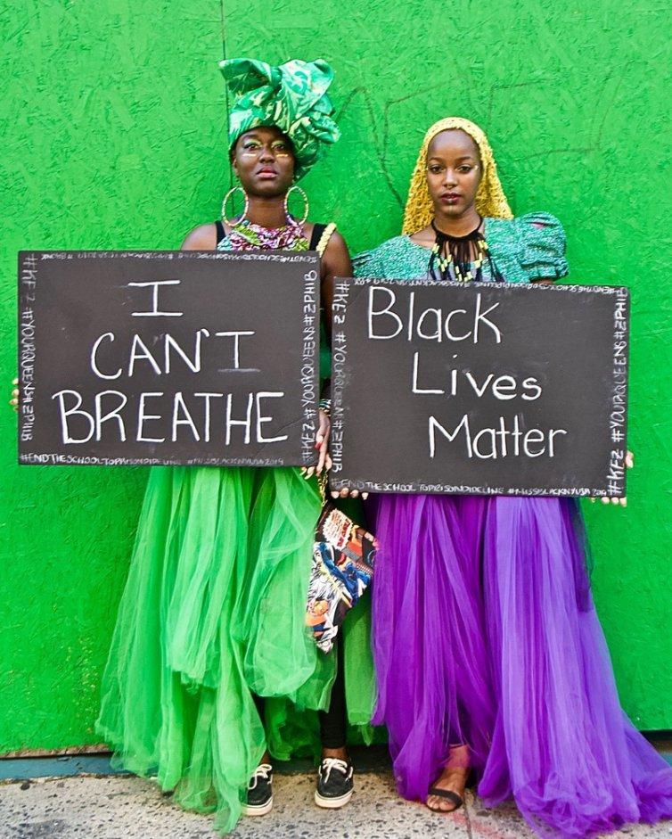 Ruben Natal-San Miguel: I Can't Breathe & Black Lives Matter (African-American Parade), 2018 #BlackLivesMatter https://t.co/W1KqxuGYim