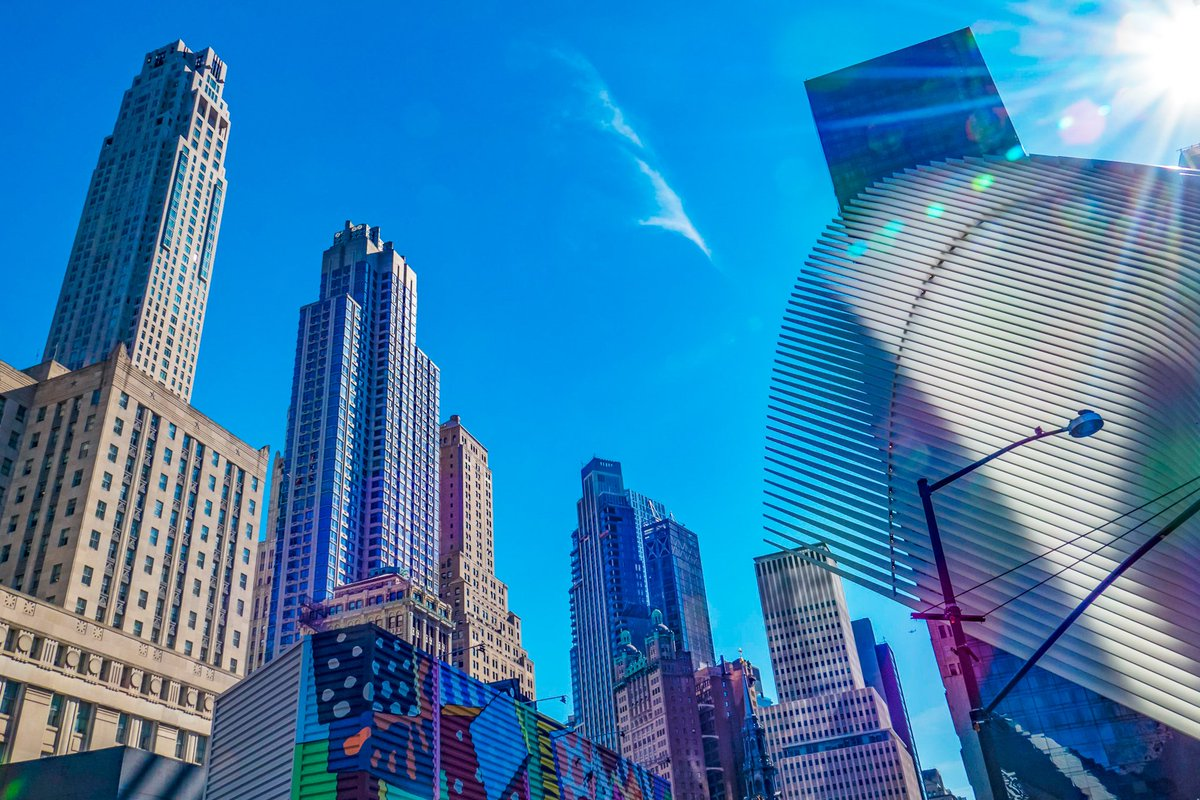 New York, Manhattan, WTC Some colors of spring  #NewYork #Manhattan #WTC #march2020 #travelphotography  #PanasonicLumix  Good Evening To All !!pic.twitter.com/KPm1EGSDct