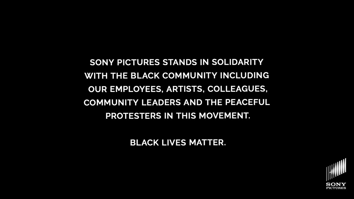Sony Pictures (@SonyPictures) on Twitter photo 01/06/2020 16:40:12