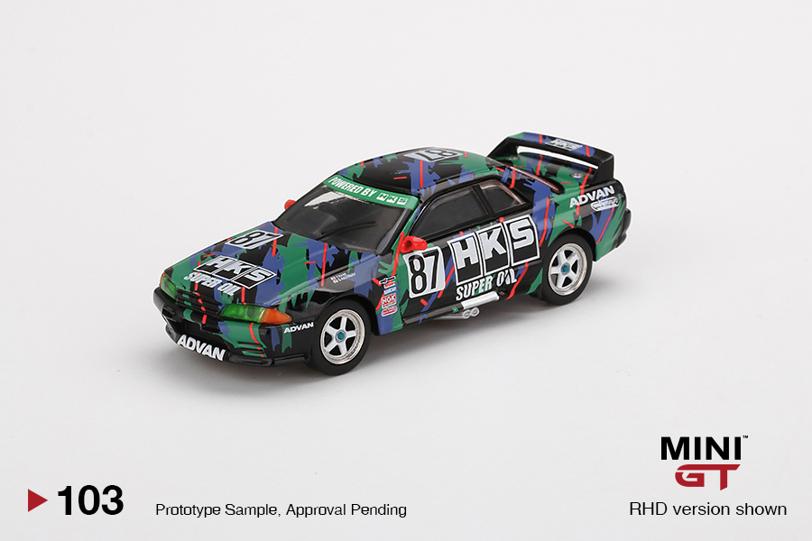 Now on pre-order! Contact your favorite hobby shops or online dealers for pre-order :) MINI GT 1/64 Nissan Skyline GT-R (R32) Gr. A #87 HKS  1993 Japan Touringcar Championship MGT00103 (RHD version only) #MINIGT64 #HKS #Nissan #Skyline #GTR #R32pic.twitter.com/dGRZpQIVrA