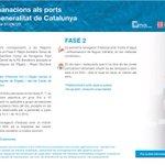 Image for the Tweet beginning: ⚠️Actualització⚠️ Recomanacions i mesures per als