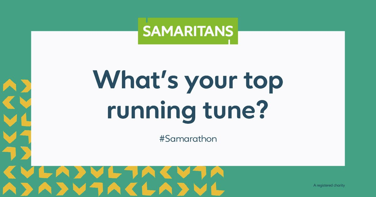 🎧 Music can really help us get in the zone when were on a run or walk 🎧 Whats your top uplifting running tune? Were creating a Spotify playlist full of songs suggested by you to help you get motivated for #samarathon in July 💪