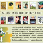 Image for the Tweet beginning: June is National Indigenous History