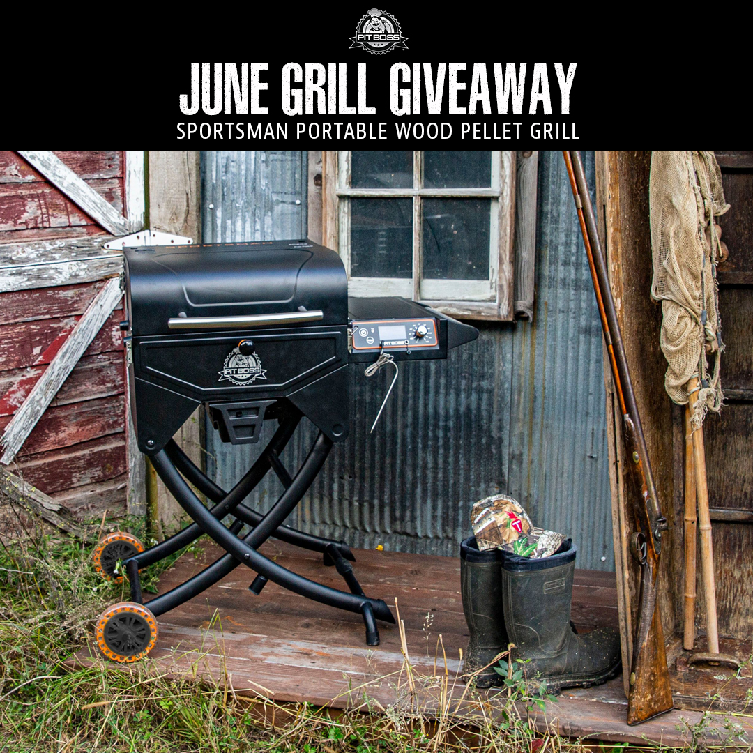 June Giveaway!  Here's how! 1. LIKE & FOLLOW @PitBossGrills  on Twitter 2. Tag 2 friends in the comment 👇 3. For more entries create your best STORY explaining why you need to win using #WhyINeedAPB  Open to Canadian & US residents.  Rules: https://t.co/B0MyiFmor5 https://t.co/3K4sjIDsUD