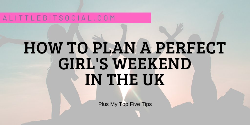As a Mum, we often forget about 'Us'. When was your last girl's weekend? Maybe it's time to plan that night out later in the year or book a girl's weekend in 2021? Give yourselves something to look forward to! #NewPost #girlsNightOut #traveltips https://buff.ly/2yTxCLB pic.twitter.com/yiun9iSxiB