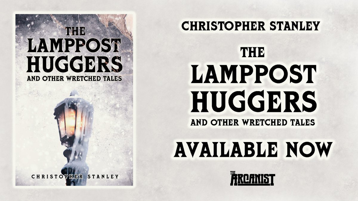 #Bookbirthday So happy to send #TheLamppostHuggers out into the world! Many, many thanks to everyone who has supported along the way (far too many to name), all @The_Arcanists, and to everyone whos ordered a copy - I hope you love it as much as I do🖤😈 amazon.co.uk/Lamppost-Hugge…