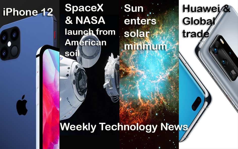 Tech News | iphone 12 leaks, SpaceX & NASA launch astronauts, Snapdragon 875  https://youtu.be/GyZoC2iKhWQ  #iphone12 #SamsungGalaxyS20 #OnePlus8Series5G  #science #SpaceX #spacexlaunch #NASA #NASATV #snapdragon #Qualcomm #HuaweiP40Series #Huawei #Facebook #AppleStore #Note20 #iospic.twitter.com/NdVm9qqHXN