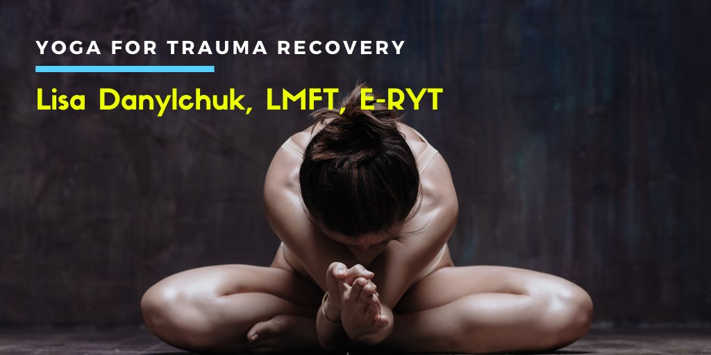 Lisa Danylchuk, LMFT, E-RYT. Yoga For Trauma Recovery. Thank you to @talkspace for sponsoring today's episode. Listen to Lisa's interview here: https://t.co/LUA9W0ZtzL https://t.co/tYw0LQGT9C