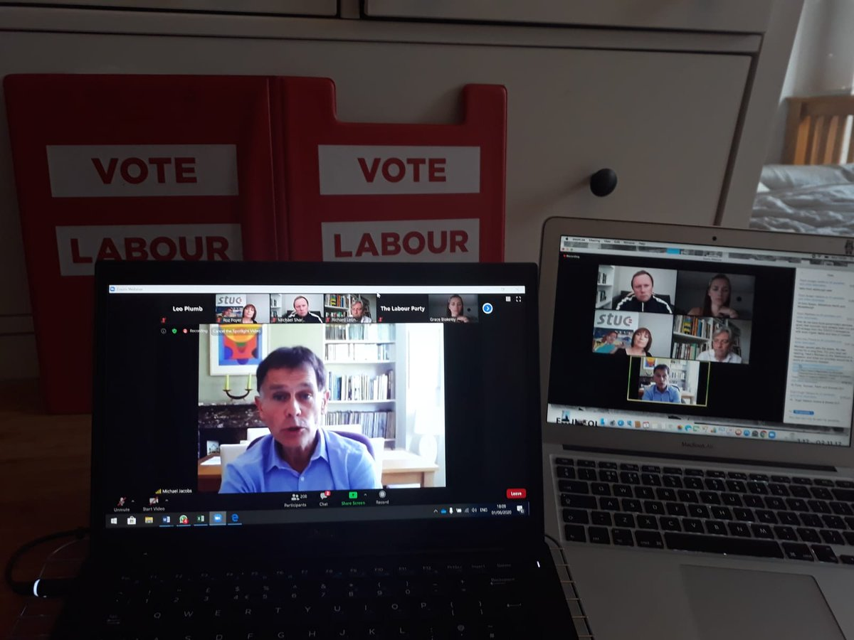 What happens #AfterTheLockdown? So far over 200 of you have tuned into @LabourRichards call with @graceblakeley, @RozFoyer and @michaelujacobs discussing how we rebuild the economy.