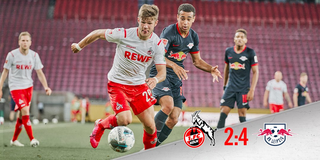 Full-time. A big effort from the boys but unfortunately goals from @Jhoncordoba4 and @amodeste27 aren't enough for a share of the spoils. ___ 2:4 #KOERBL #effzeh https://t.co/2ytxpCZ2Wc