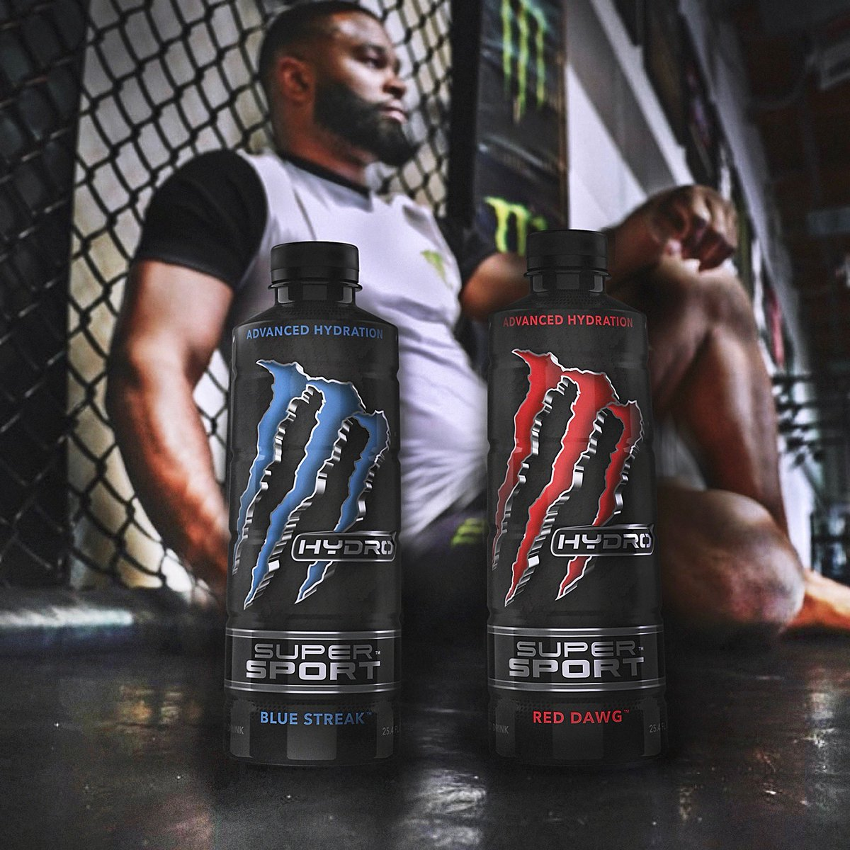 Check this NEW sports performance drink from @MonsterHydro ⚡ ...200mg caffeine, BCAAs, electrolytes and only 70 calories per bottle! #HydroSuperSport  #HardChargingHydration #AdvancedHydration https://t.co/wJ3BWZeRq6