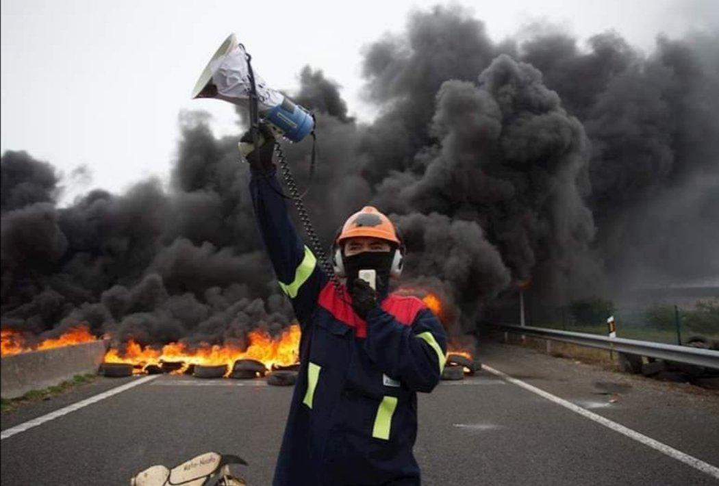 Compañeiros e compañeiras de alúmina - aluminio temos que loitar.... #CCOO #AlcoaNonSePecha #amariñalucense #alcoa #aluiberica #ccooindustria #Asturias #Galicia #aviles #ACoruña #sanciprian