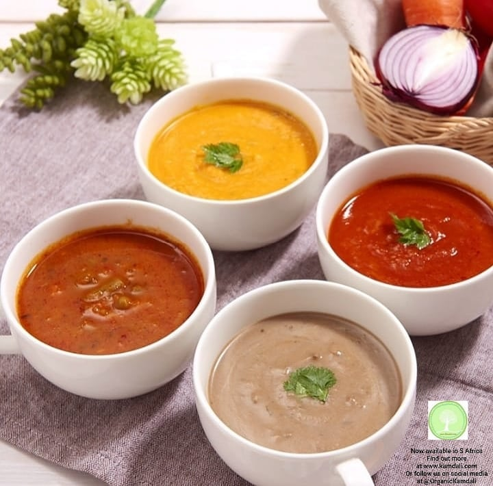 Our organic soups are tasty and filling with great sources of nutrients. Easy to make, just heat up and enjoy ! #food #kamdali #organickamdali #ok #saveplanet #foodgasm #yummy #yumyum #delicious #delicious #eating #foodpic #foodpics #healthy #health #sustainability #innovation