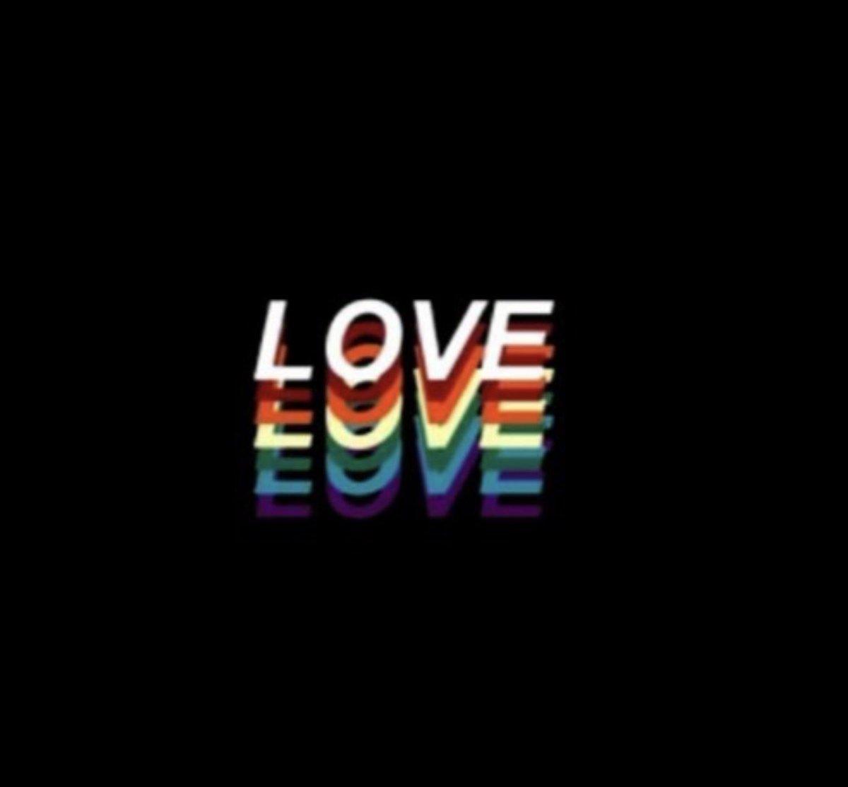 Less hate, more love! ❤️🧡💛💚💜 #Pride2020