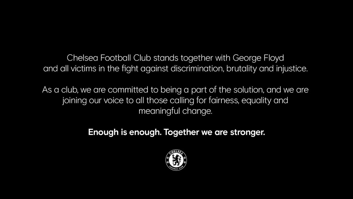 Chelsea FC (at 🏡) (@ChelseaFC) on Twitter photo 2020-06-01 18:03:04