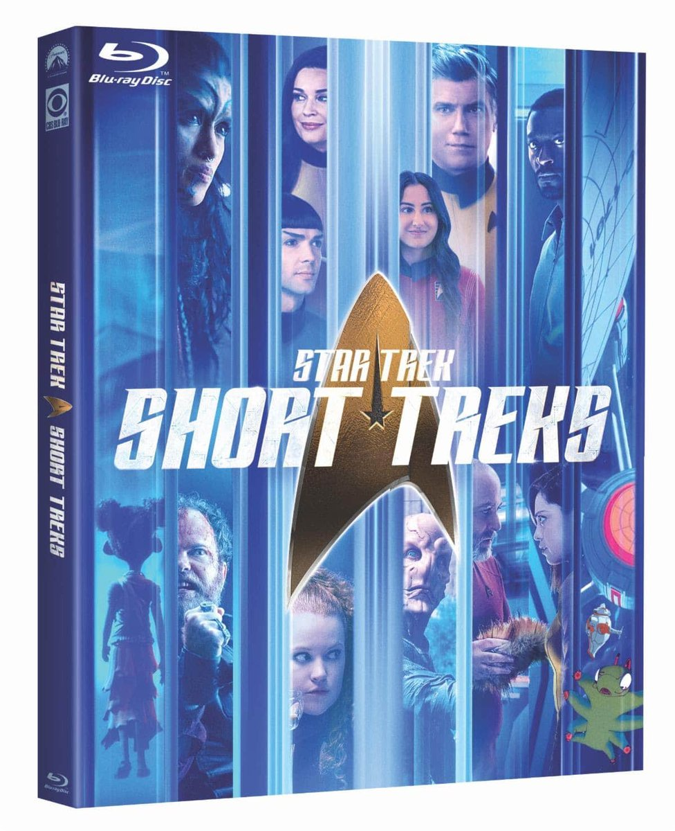 Star Trek has always celebrated equality, diversity and #pride.   RT + FOLLOW us to #win #StarTrek: Short Treks on Blu-ray! https://t.co/0Q4iDoycoO