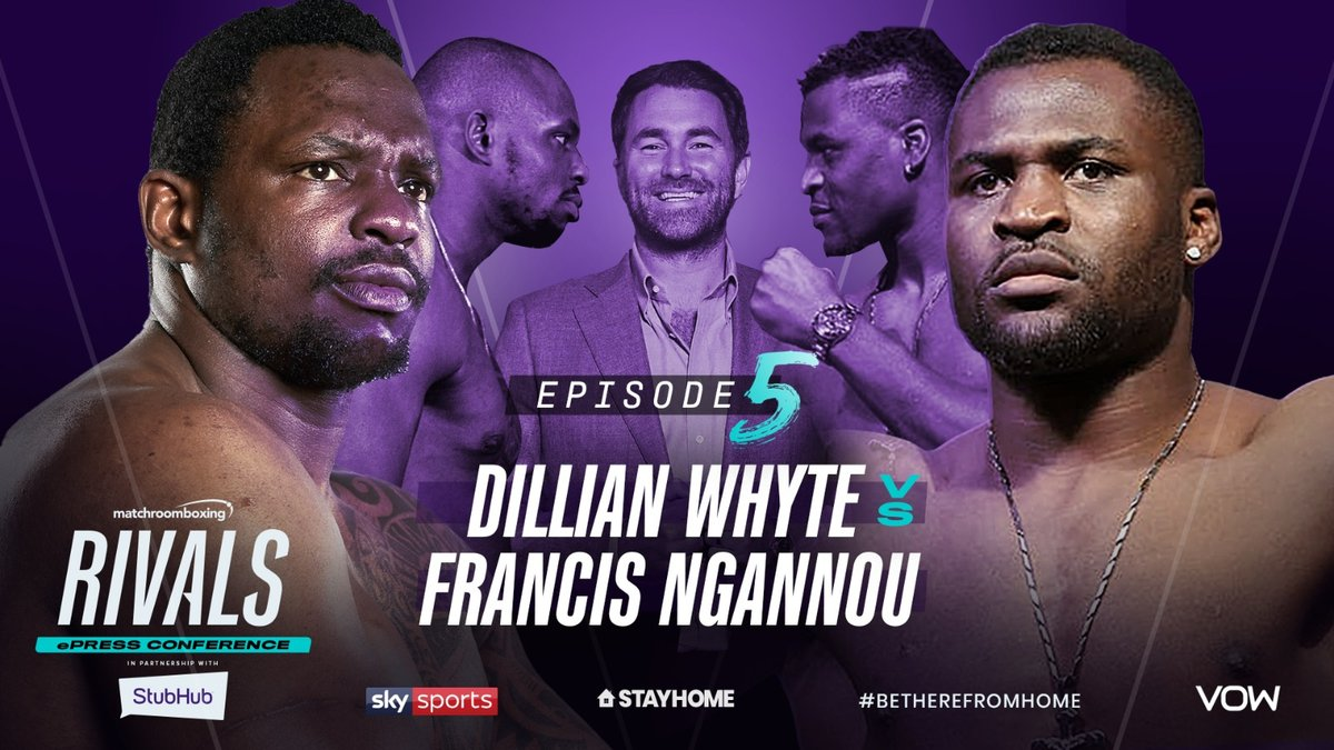Eddie Hearn says Francis Ngannou went 'berserk' in unreleased joint interview with Dillian Whyte | https://t.co/hJfCjCKxfI https://t.co/ofwfhJDiq1