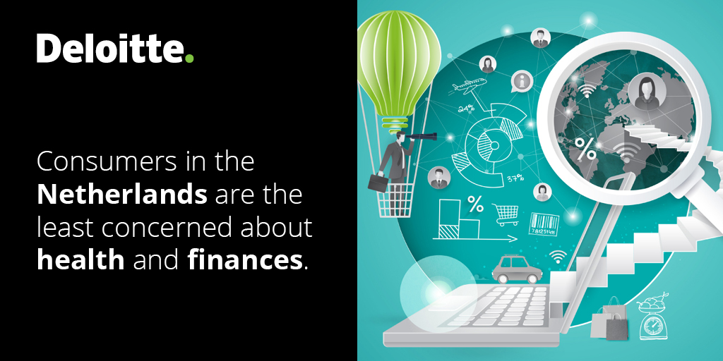 Health and financial concerns remain relatively high worldwide due to the outbreak of #COVID19. Deloitte Global State of Consumer Tracker reveals other major concerns that will start mounting up. https://t.co/P9gj0Jx6pj https://t.co/PEv5BpAQxi