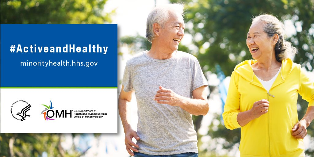 #DYK men die at higher rates than women from the three leading causes of death: heart disease, cancer, and unintentional injuries? Learn how staying #ActiveandHealthy can help you live a longer and healthier life: https://t.co/rlSbvEfmOt #MensHealthMonth https://t.co/XUNxEjPXDg