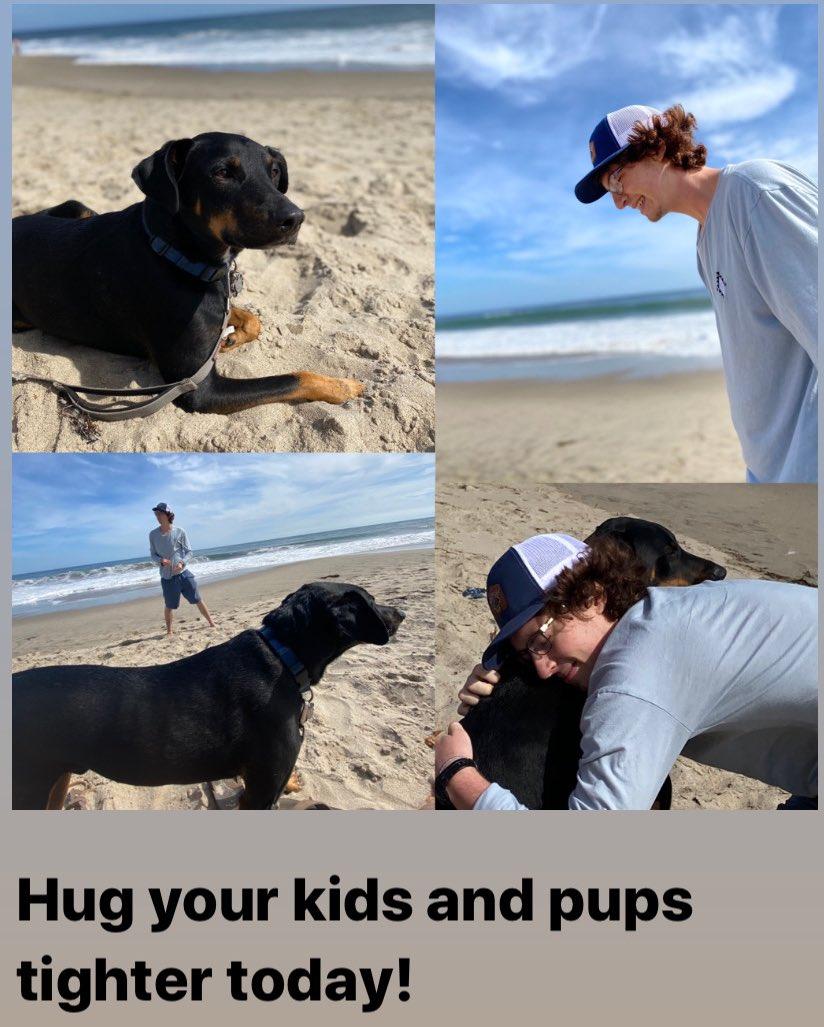 Embrace what is dearest to you!  #love #family #doglover #beach #strongbodystrongsoul #boymomlife #dobiesofinstagram #dobielove #dogsoftwitterpic.twitter.com/h1TN0ADkYq
