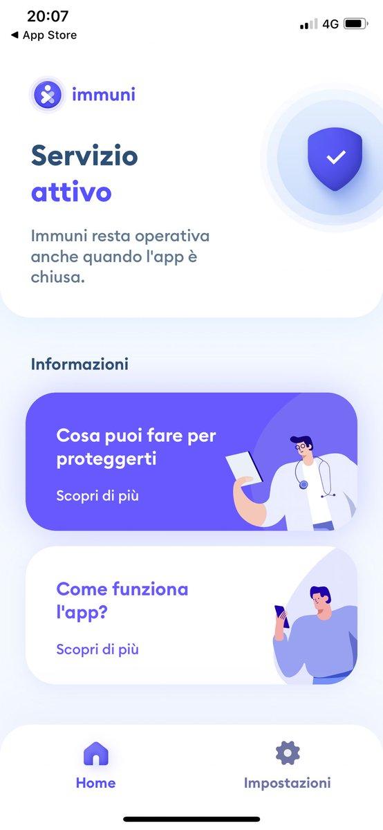 #Immuni