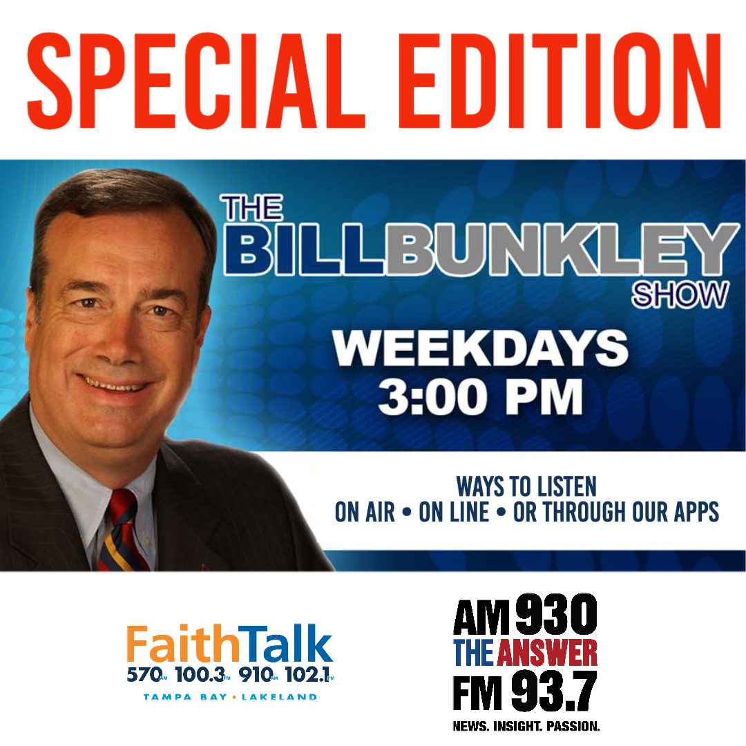Today's on a SPECIAL EDITION of the Bill Bunkley Show: We have invited several Pastors and Local Officials to discuss the last several nights of unrest in the Bay Area and the Country. Tune It at 3:00 pm! pic.twitter.com/Eee71FV0Qr