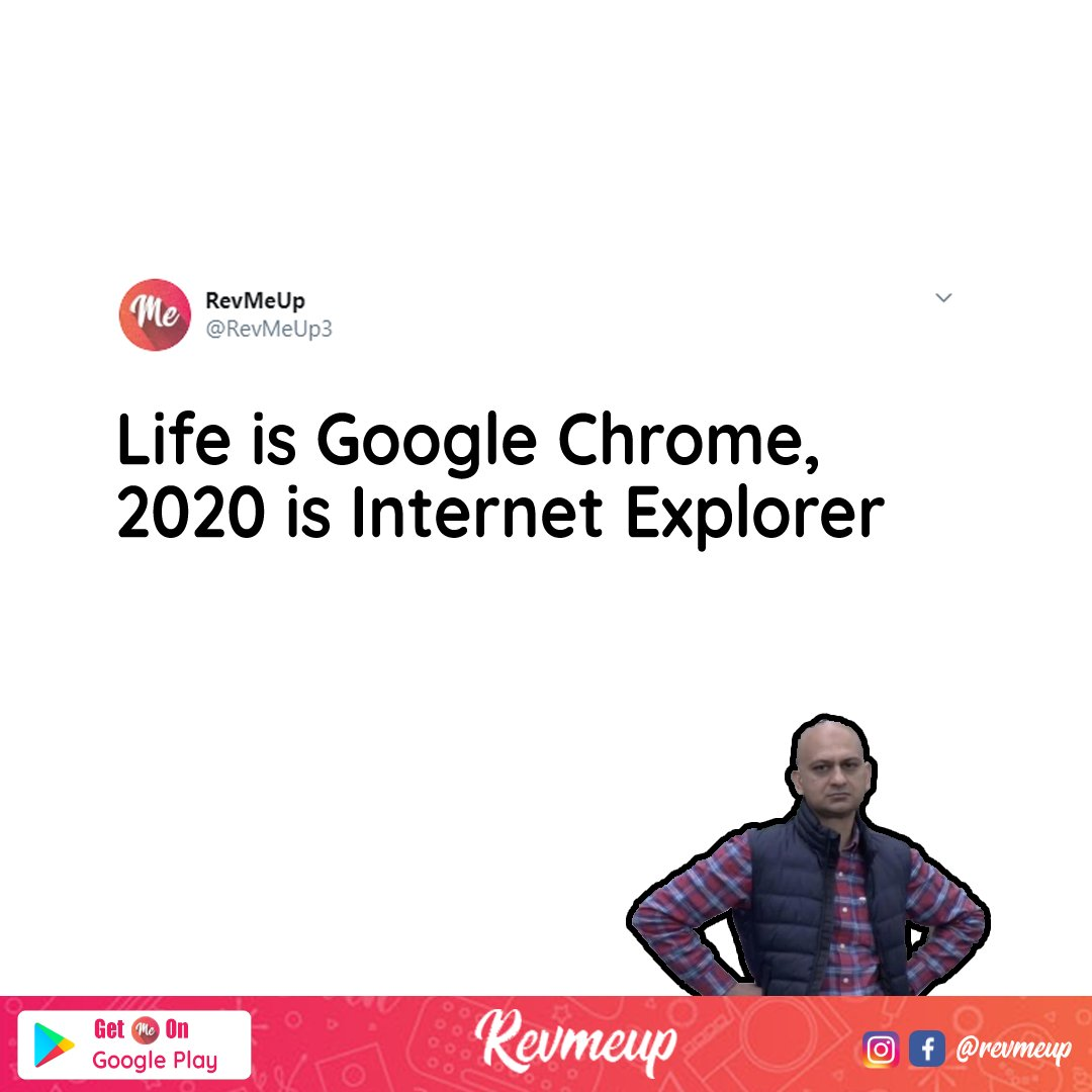 Old is Gold. Tag someone who needs to know this! Download our app now (link in bio). #revmeup #techlovers #gadgetlovers #news #chrome #internetexplorer #memes #techmemes #programmingmemes #2020memes pic.twitter.com/0i438e8spb