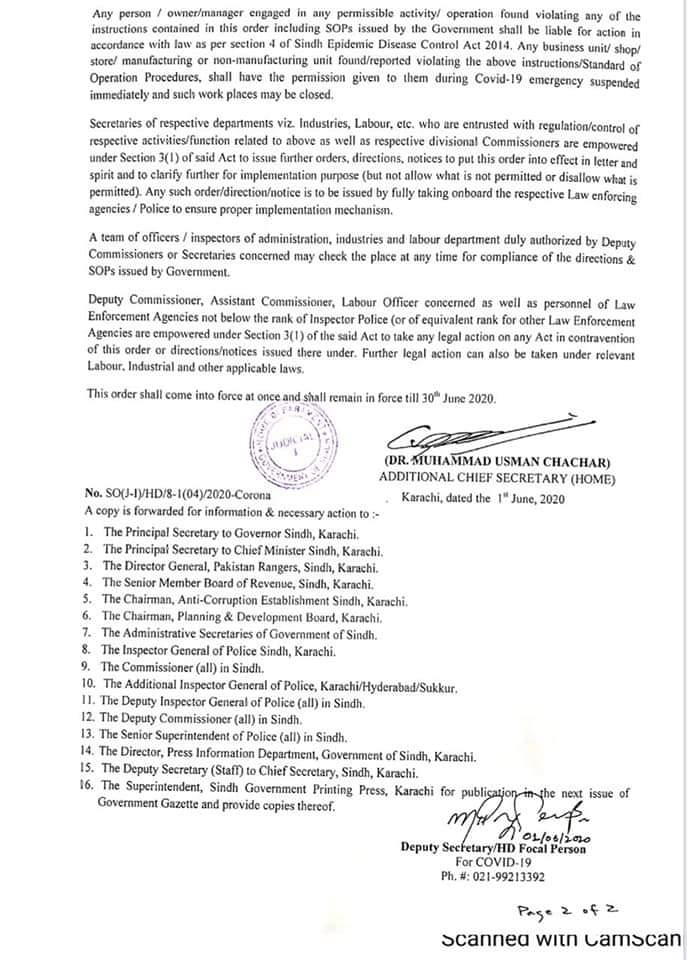 Notification (1st June, 2020) for extension of Lockdown with SOPs.  Timing: 6 AM- 7 PM  Transportation is most likely to open in days.pic.twitter.com/2FVhYKN1Mn