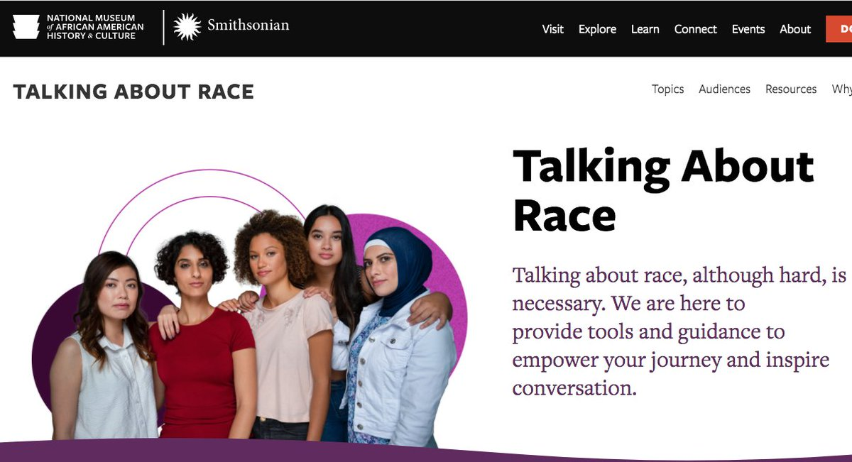 D C Area Educators For Social Justice On Twitter Talking About Race Matters The Education Team At Nmaahc Have Launched A Portal With Tools To Support Educators Parents Caregivers With Guidance To Inspire