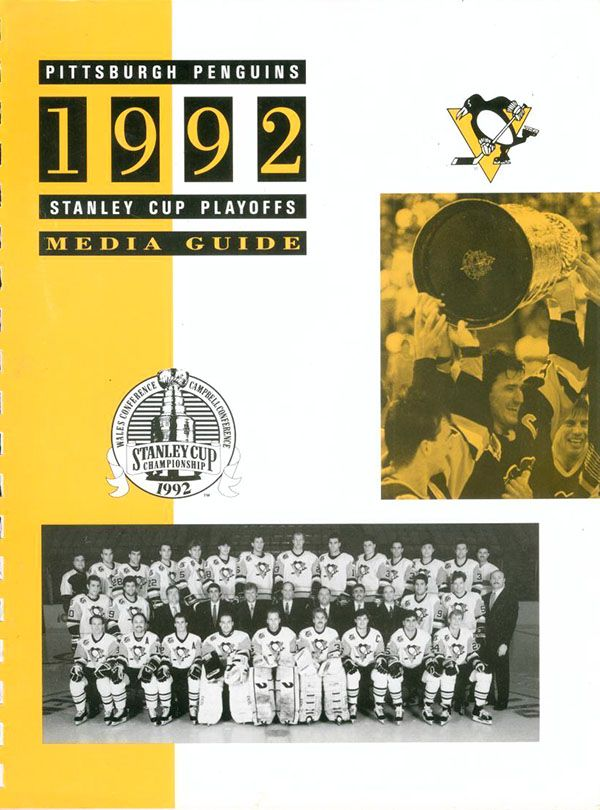 #OTD in 1992 the Pittsburgh Penguins completed a sweep of the Chicago Blackhawks in the Stanley Cup Finals to win their second consecutive NHL title.