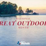 Image for the Tweet beginning: June is #NationalGreatOutdoorsMonth. Good timing—overnight