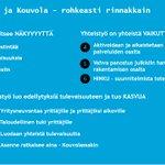 Image for the Tweet beginning: Yrittäjyyden ja #yhteistyö'n asialla: Kymppi