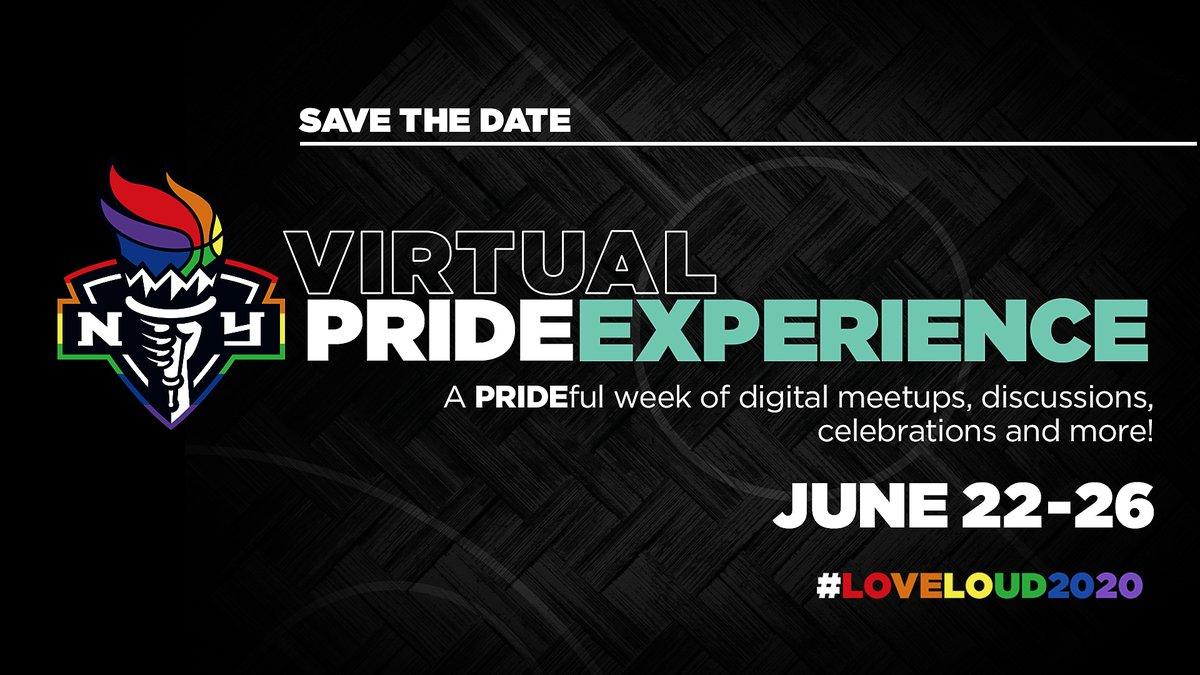 SAVE THE DATE! Join us for a Virtual PRIDE Experience, June 22 -26, as we celebrate love and drive awareness and discussion around social issues impacting the LGBTQ+ community. More details coming soon. #LOVELOUD2020 https://t.co/nvfOPuJoBJ