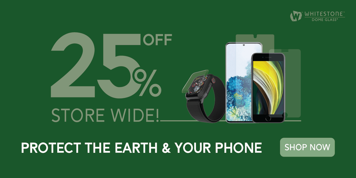 Protect the Earth & Your Phone Save 25% off on EVERY PRODUCT#EarthDay #EarthDay2020 #WhitestoneDomeGlass #Screenprotector #AppleWatch #iPhoneSE2 #iPhoneSE #GalaxyS20Ultra #S20Plus #S20 #iPhone11 #iPhone11pro #iPhone11promax #promotion  SHOP NOW!  https://buff.ly/2KnZzx5 pic.twitter.com/3lMaXHXDck