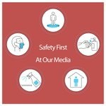 Image for the Tweet beginning: Safety first at OUR MEDIA