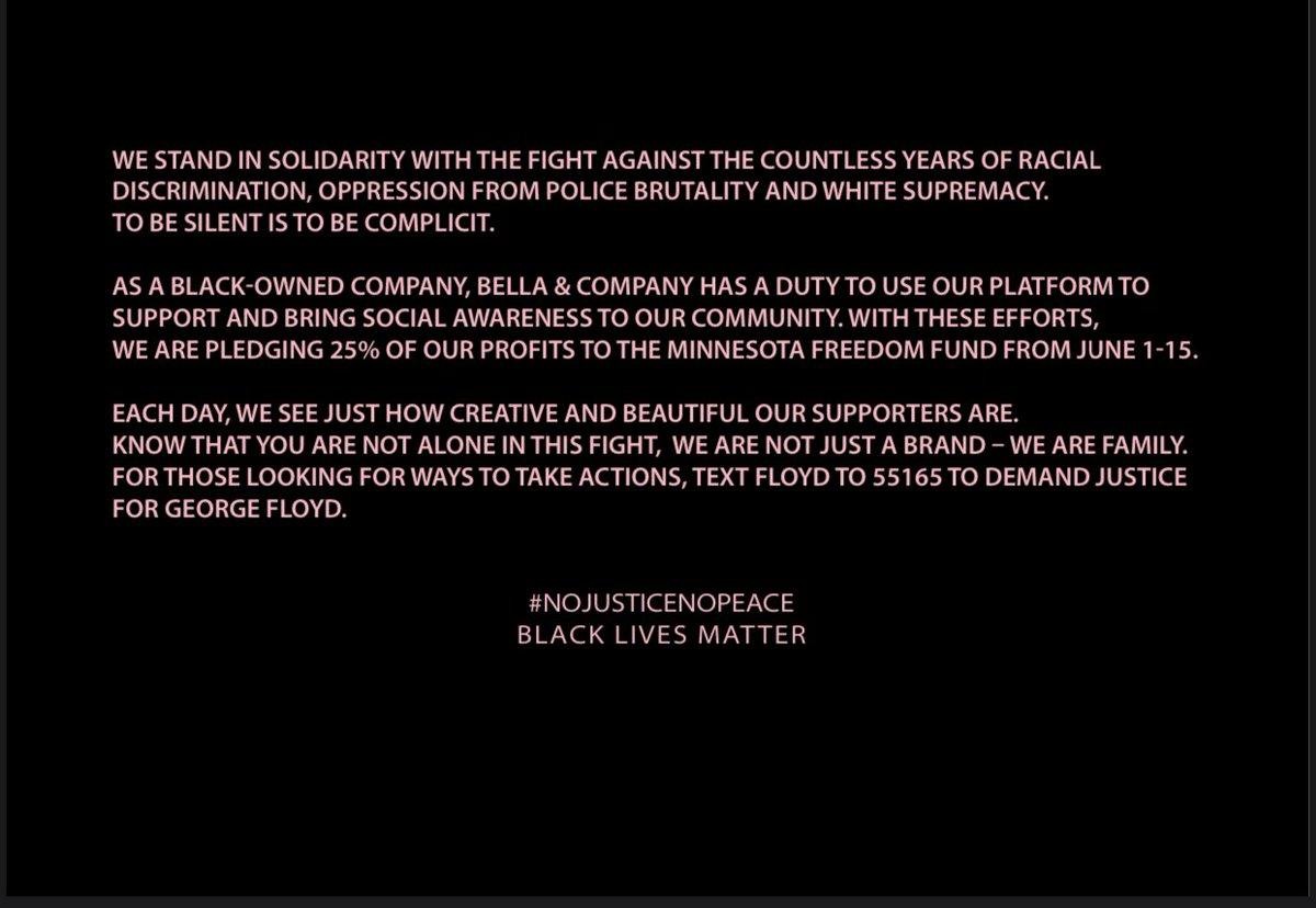 A message from our team. #NOJUSTICENOPEACE #BLACKLIVESMATTER ✊🏽✊🏾✊🏿
