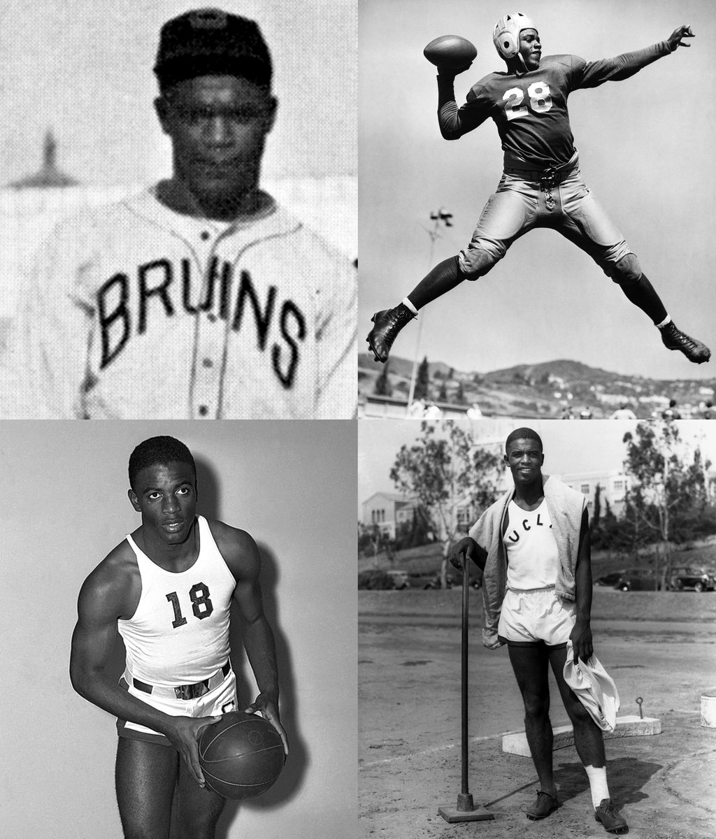 In Jackie Robinson's first baseball game for UCLA, the four-sport star collected four hits and four stolen bases. pic.twitter.com/jzJyuUrNl7