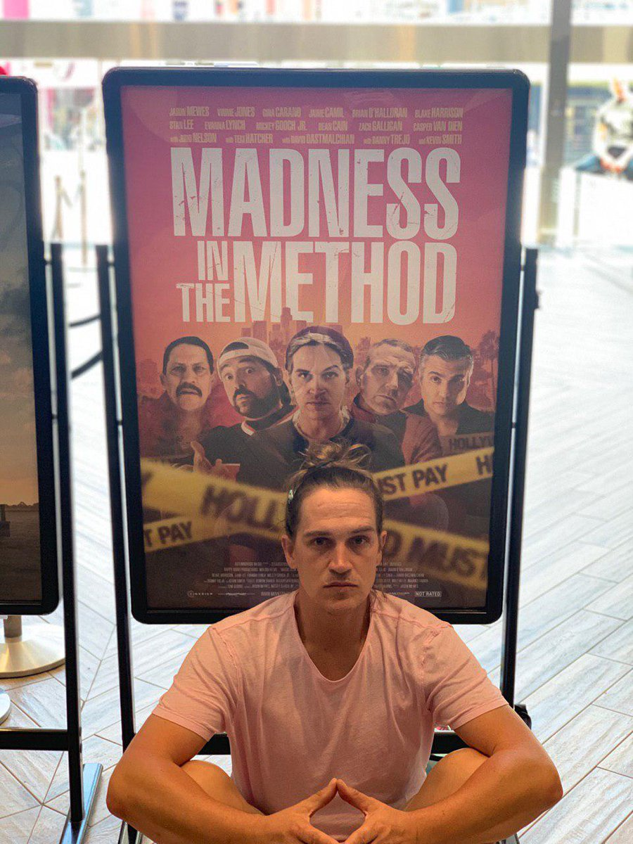 Hey youse all out in the UK, my directorial debut #MadnessInTheMethod is coming to digital platforms June 8th! Pre-order it right now on iTunes here ➡️ https://t.co/Jvp9uP09DA NOOTCH!!! https://t.co/DWqQ7VOwF3