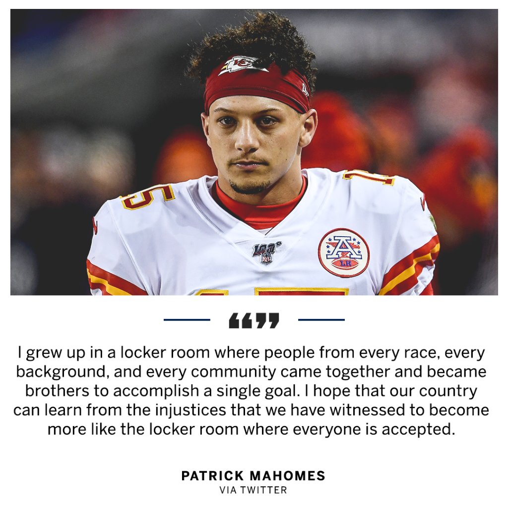 .@PatrickMahomes wants people to unite. https://t.co/EXEo8odife