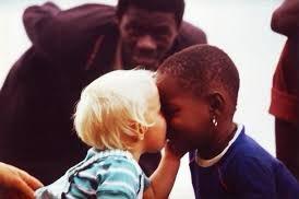 Somos todos iguales #black #white #same