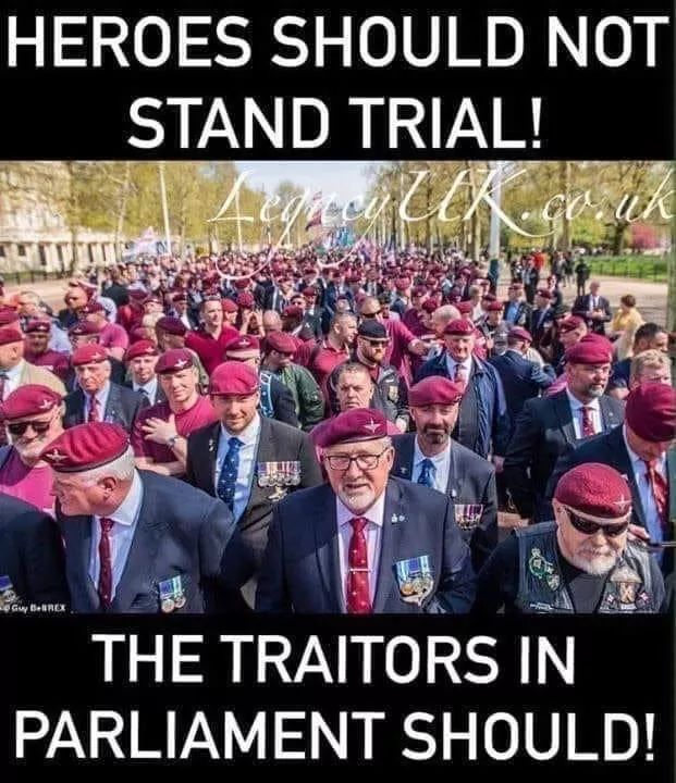 Zero coverage by MSM if veterans marches for parity over the last few years. Yet a career criminal 4000 miles away? This country sickens me. Thousands of children raped by, well, we know who. No demos for them. Wake the fuck up UK! https://t.co/qKaDu3NKxq