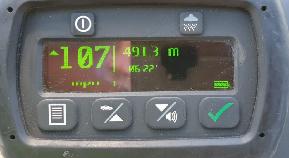 Unfortunately speeding continues on A13 near Wennington @MPSHavering in a posted 70, 107 MPH is unacceptable. #SlowDownSaveLives Once again telling drivers we are focusing on speeding offences, attention to A13, A12 and A406.
