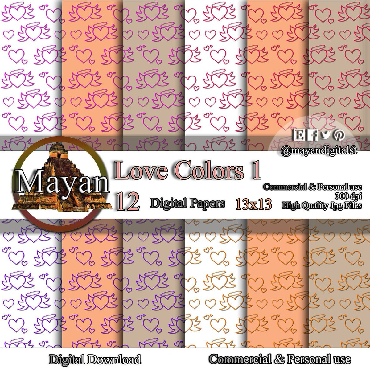 Excited to share the latest addition to my #etsy shop: Love digitized, love digital paper, heart digital print, love heart wall art, digital love, hearts digital paper, love digital background,  #quinceanerasweet16 #valentinesday #lovefriendship