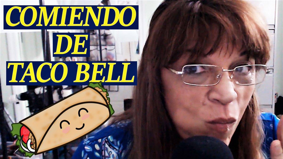 Nuevo video esta noche a las 10:00pm.⏰#asmr #eating  Come conmigo y disfrútalo más!#comiendo #relax #tacobell Mil Gracias y mil besos!!!