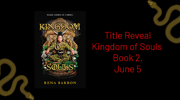 Its hard to promote right now, but the world needs our stories. Its almost time to reveal the cover for #KingdomOfSouls Book #2 The title drops Friday Sign up for my newsletter to see the cover first: bit.ly/2umXGfO Spoiler: The cover is BOLD, BRAVE & BLACK, yall🙌