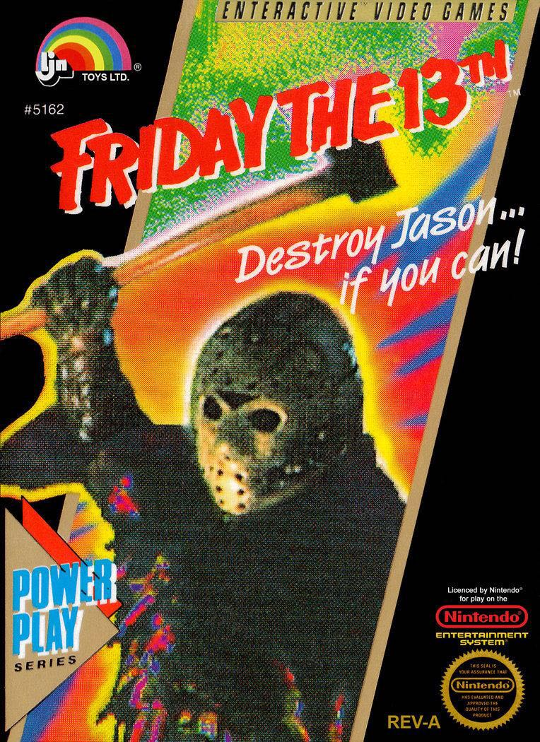 Box art for Friday the 13th released on the Nintendo Entertainment System by LJN #80s #Horror #movies #videogames #FridayThe13thpic.twitter.com/KXc4OtOt98