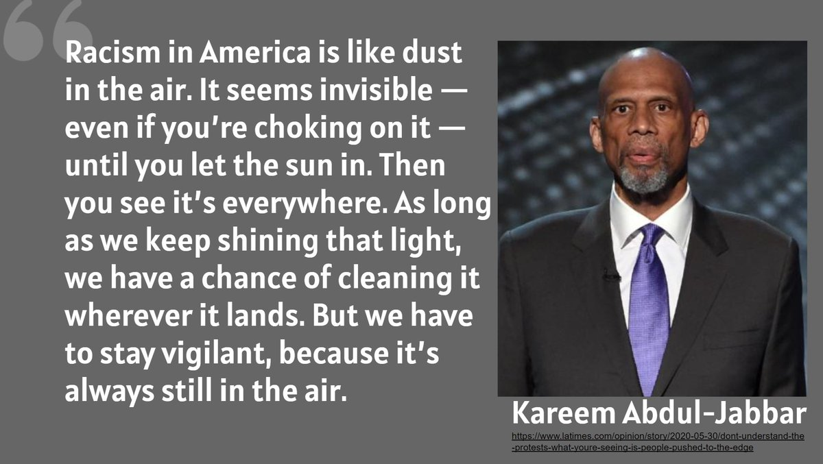 One of the poignant commentaries of this past week from icon Kareem Abdul-Jabbar latimes.com/opinion/story/…